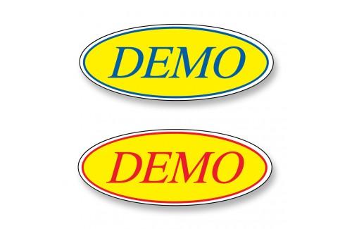 ''DEMO'' oval