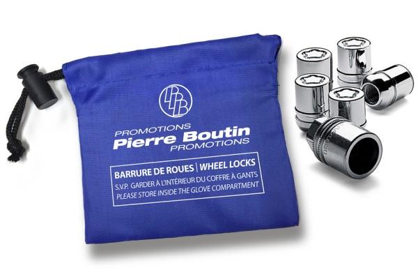 Pochettes pour barrures de roues en tissu