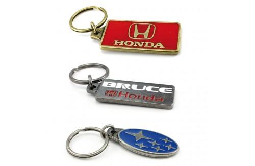 Porte-clés antique avec couleurs
