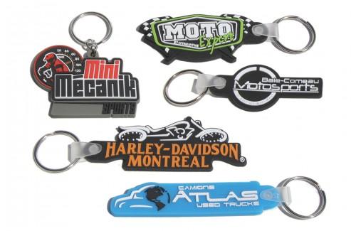 Porte-clés souples 2D